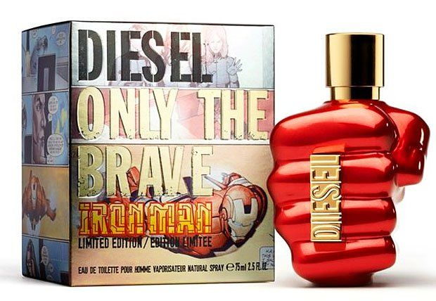 картинка Diesel Only The Brave Iron Man Для Мужчин 75 ml от магазина Авуар