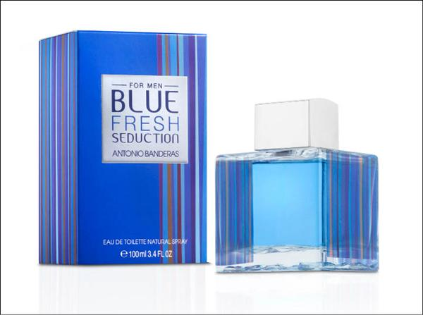 картинка Antonio Banderas Blue Fresh Seduction Men Для Мужчин 100 ml от магазина Авуар