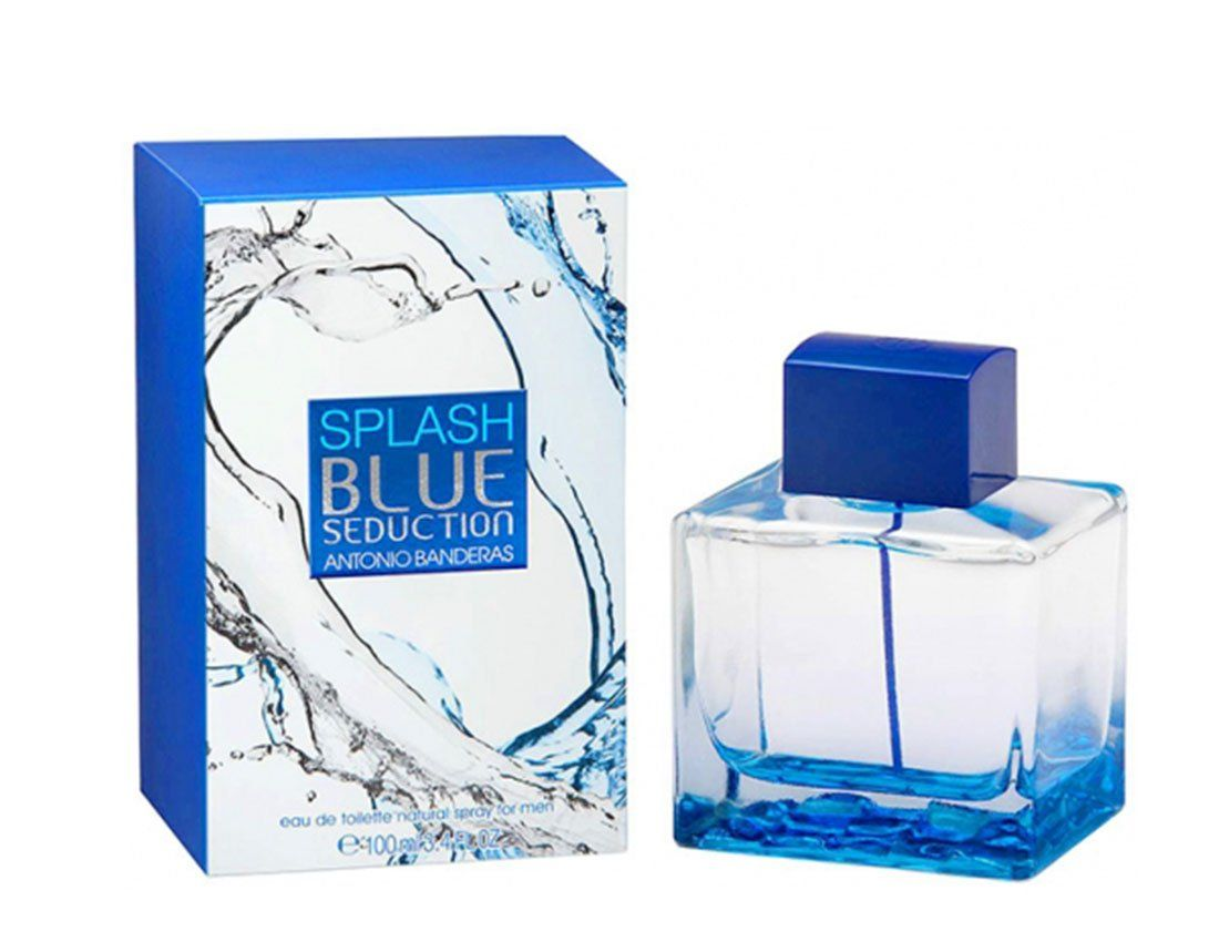 картинка Antonio Banderas Blue Seduction Splash Men от магазина Авуар
