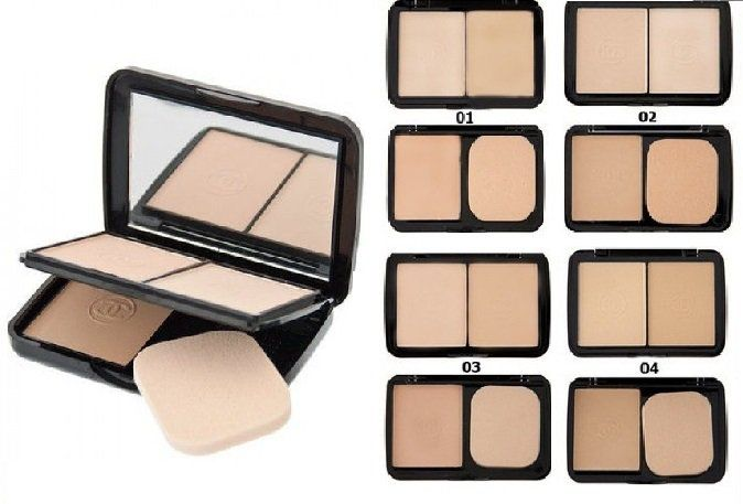картинка Сhanel (3в1 double perfection compact vitamin E) от магазина AVUAR.COM.UA
