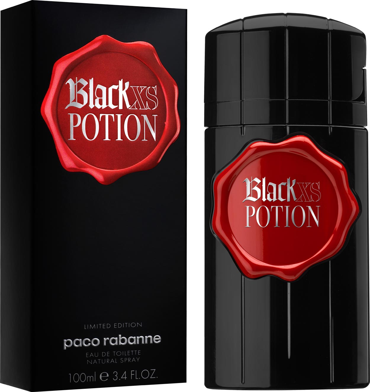 картинка Paco Rabanne Black XS Potion for Him от магазина Авуар