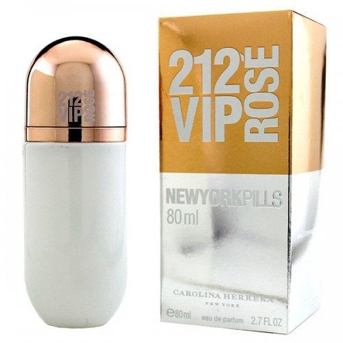 картинка Carolina Herrera 212 VIP Rose New York Pills Для Женщин 80 ml от магазина Авуар