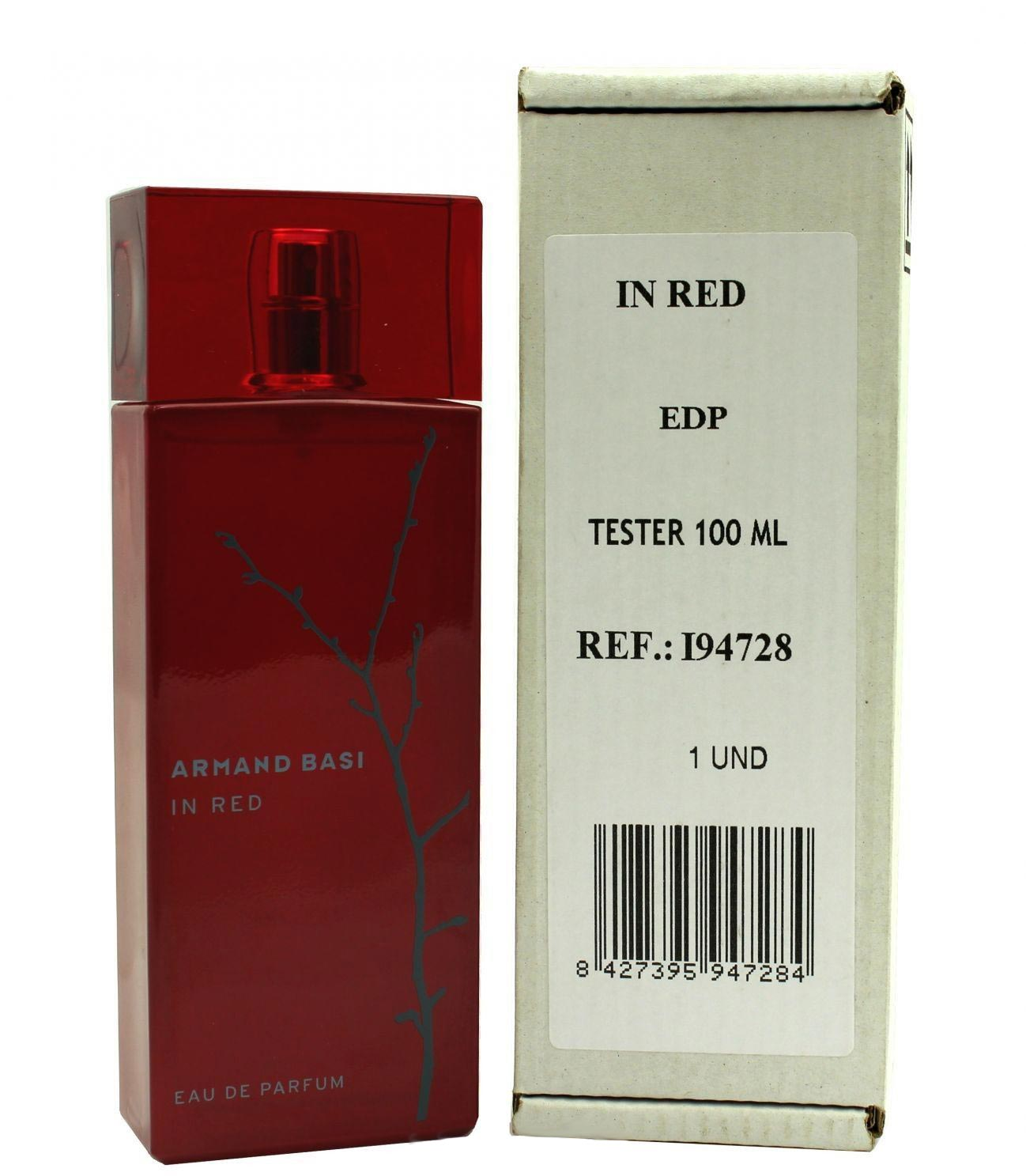 картинка Armand Basi in Red Eau De Parfum Tester Для Женщин 100 ml от магазина Авуар