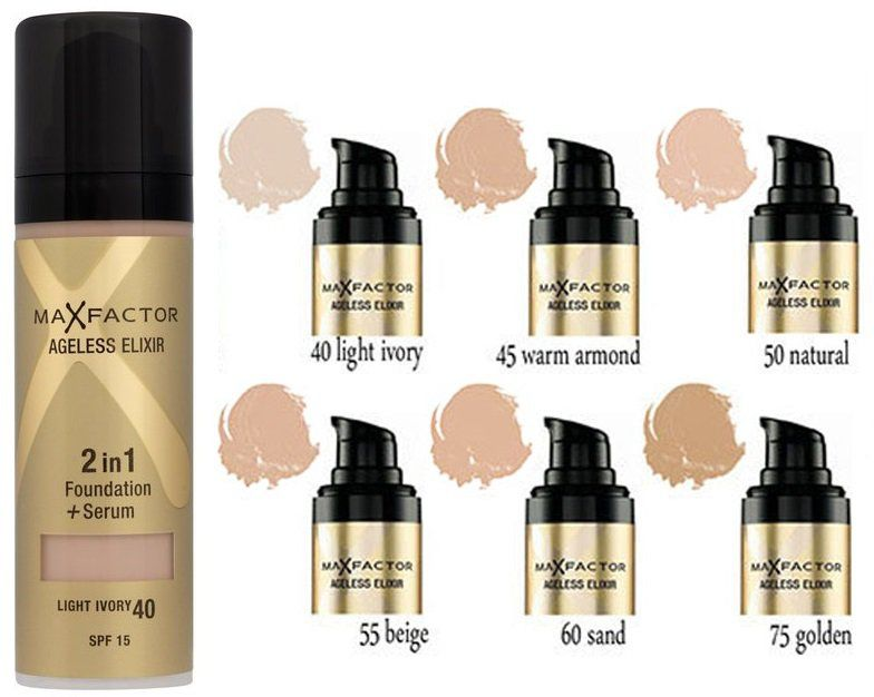 картинка Max Factor Ageless Elexir 2in1 от магазина AVUAR
