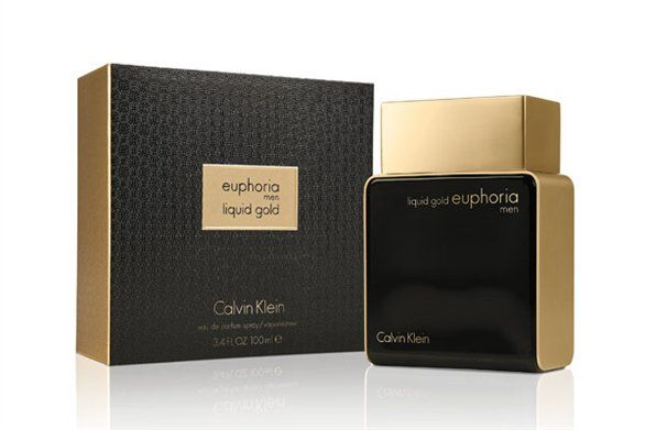 картинка Calvin Klein Liquid Gold Euphoria Men от магазина Авуар