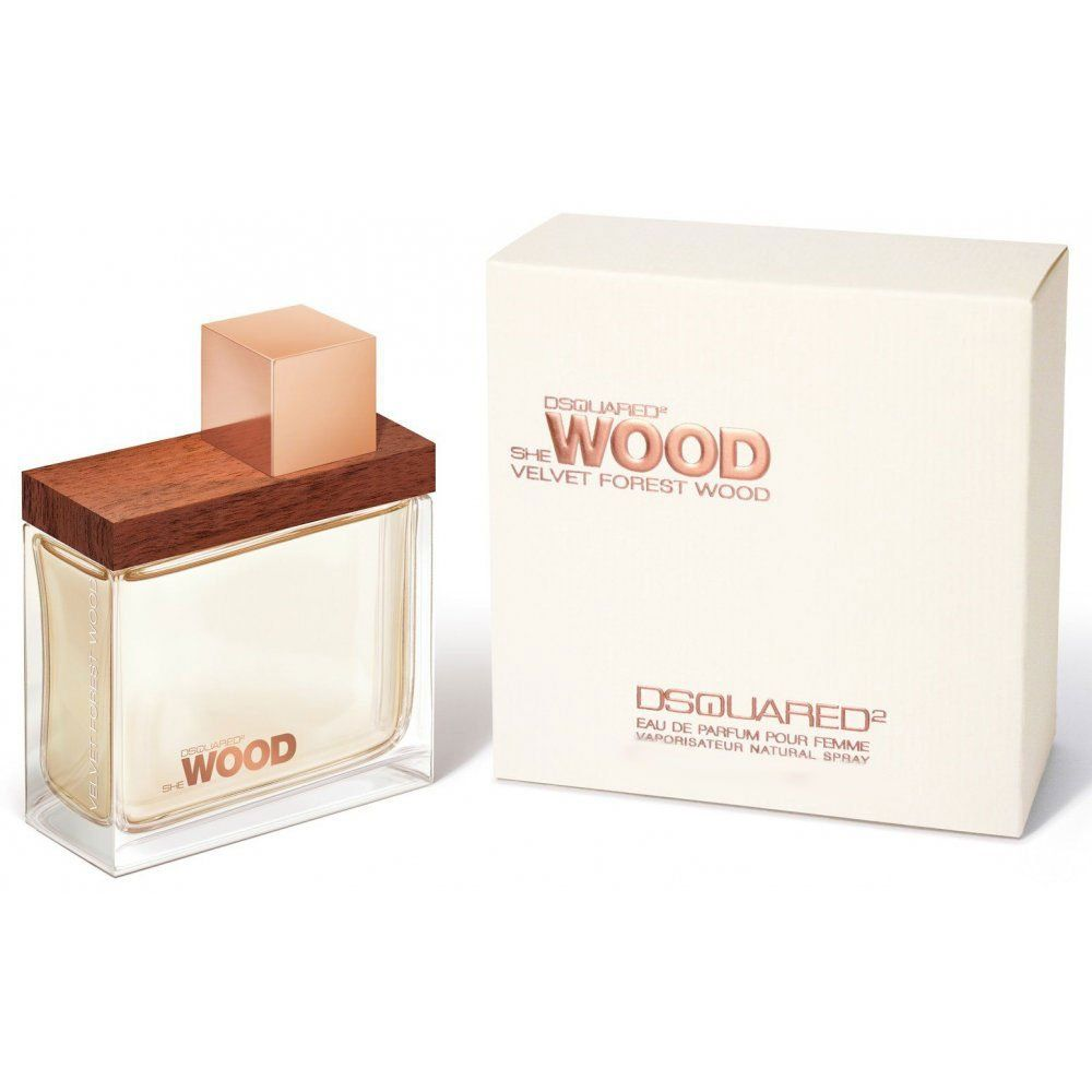 картинка Dsquared2 She Wood Velvet Forest Wood Для Женщин 30 ml от магазина Авуар