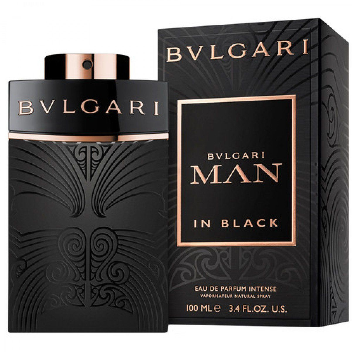 картинка Bvlgari Man In Black Eau De Parfum Intense от магазина Авуар