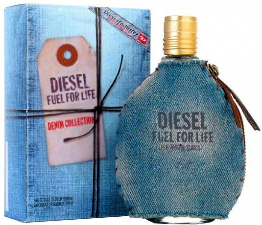картинка Diesel Fuel For Life Denim Homme Для Мужчин 75 ml от магазина Авуар