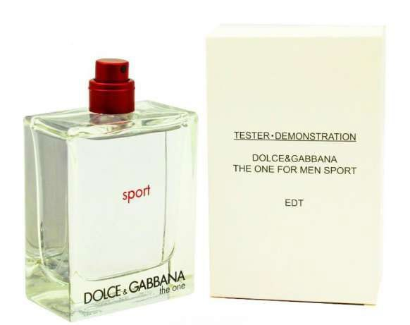 картинка Dolce & Gabbana The One Sport For Man Tester от магазина Авуар